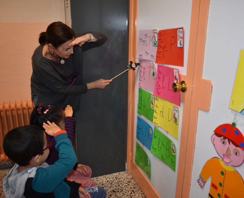 Actividad dirigida en el colegio público Virgen del Cerro de Vallecas