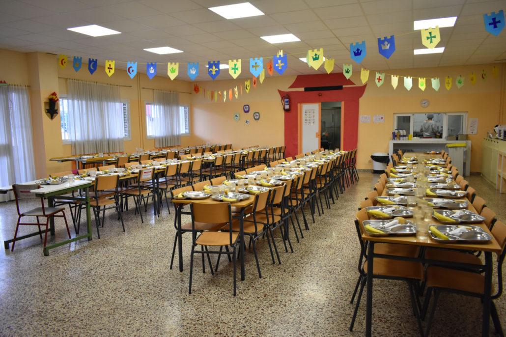 Comedor - CEIP Virgen del Cerro