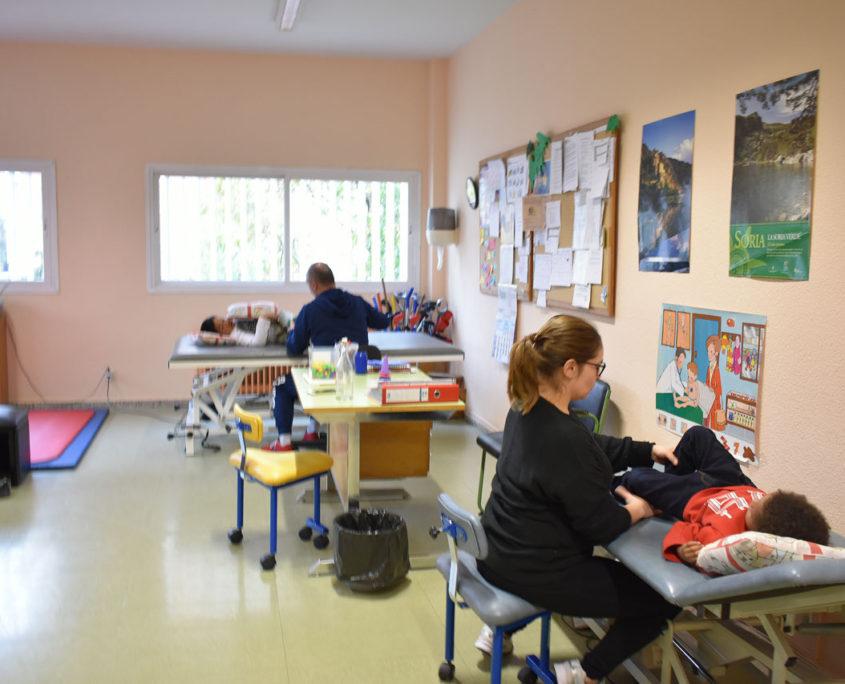 Enfermería del colegio Virgen del Cerro de Vallecas