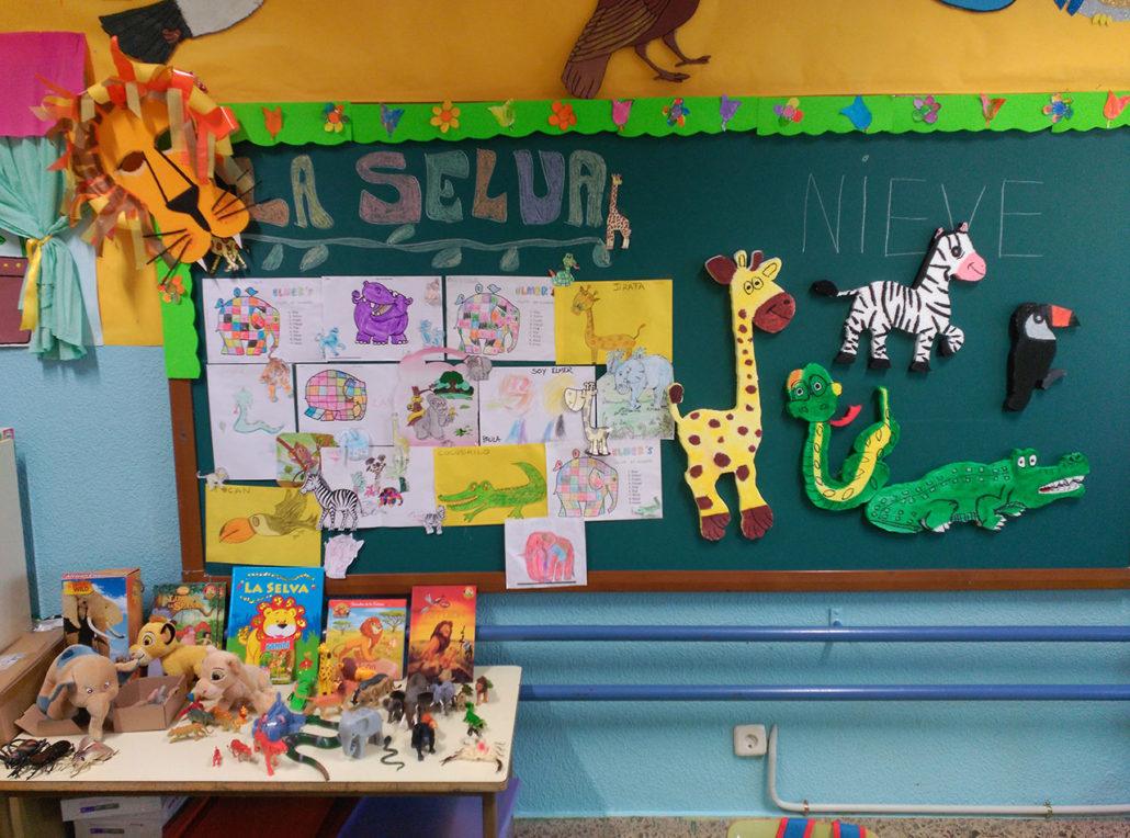 Centro de inter s selva 3 a os ceip virgen del cerro for Proyecto de comedor infantil