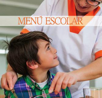 Imagen del menú del comedor del colegio público Virgen del Cerro