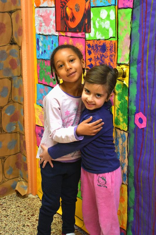 Otro detalle del proyecto educativo del colegio público Virgen del Cerro de Vallecas